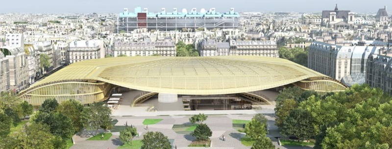 canopy of Paris project